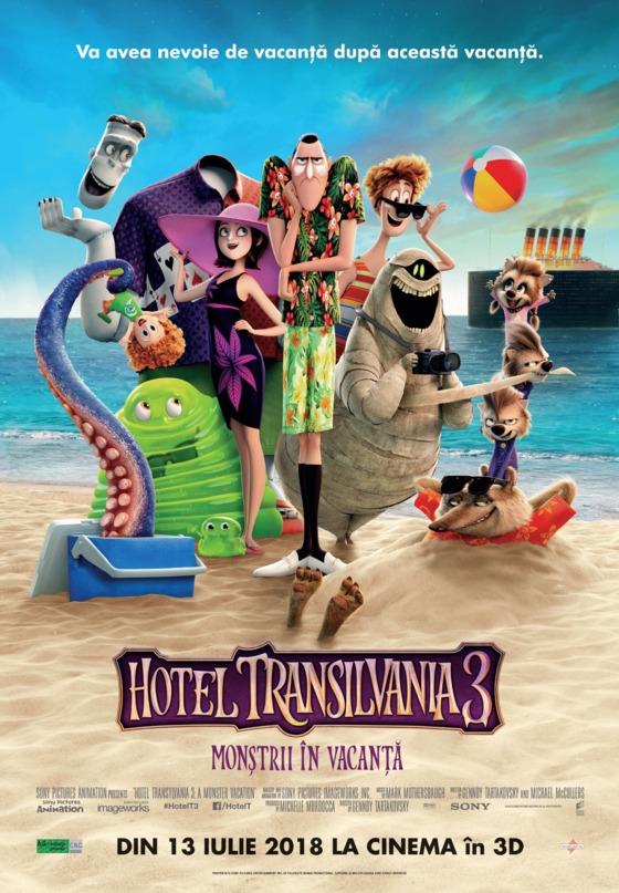 Hotel Transilvania 3: Monştrii în Vacanţă