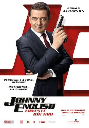Johnny English lovește din nou