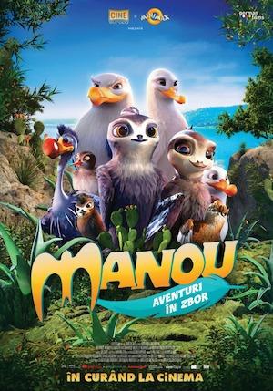 Manou - Aventuri în zbor